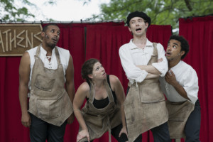 Cincinnati Shakespeare Co's Free Shakespeare in the Park Tour Starts Next Week