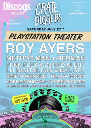 Crate Diggers NYC Record Festival Moves to PlayStation Theater