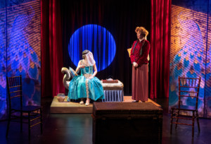 BWW Review: Layered stories trapped in the dense dialogue of [VEIL WIDOW CONSPIRACY] at Next Door @ NYTW