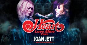 HEART Extends U.S. 'Love Alive' Summer Tour