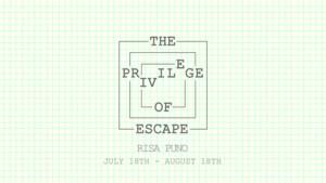 Creative Time Announces Risa Puno's THE PRIVILEGE OF ESCAPE at Onassis USA