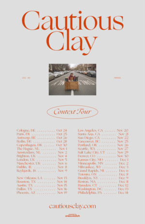 Cautious Clay Debuts SIDEWINDER Video, Confirms North American and EU Headline Tour