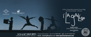 I LA GALIGO to Play at Ciputra Artpreneur Theater