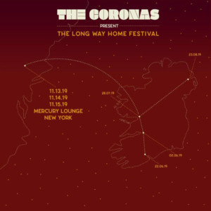 The Coronas Announce Only 2019 U.S. Shows at New York's Mercury Lounge