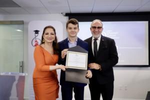 Emilio and Gloria Estefan Scholarship Awarded to Sergio De Miguel Jorquera