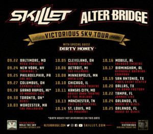 Skillet and Alter Bridge Announce Fall 2019 Tour