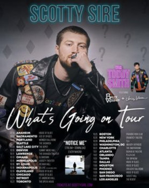 Scotty Sire Announces What's Going on Tour Presented By Live Nation
