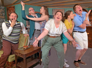 Ken Ludwig's Madcap Comedy THE FOX ON THE FAIRWAY Drives Its Way Into The Poorman Cabaret
