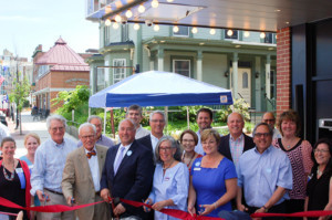 Bank Of New Hampshire Stage Holds Ribbon Cutting On June 24