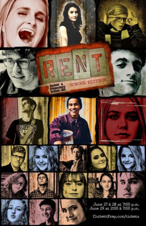 BWW Review: Stunning Caleb Quezon and Tallulah Nouss Lead an Outstanding Young Cast in Corbett Preparatory School's Production of Jonathan Larson's RENT