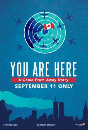 Documentary YOU ARE HERE, Based On Same Events As COME FROM AWAY, Lands in Cinemas On 9/11