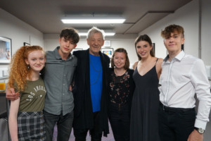 Young Actors Get Masterclass From Sir Ian McKellen at Exeter Northcott Theatre