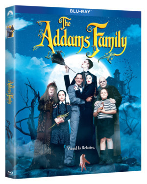 THE ADDAMS FAMILY & ADDAMS FAMILY VALUES Arrives On Blu-ray, DVD and In 2-Movie Collection