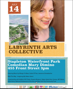 Mary Dimino to Perform at Stapleton Waterfront Park