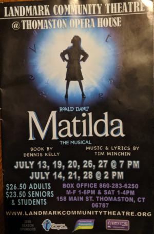 BWW Review: MATILDA Steals Hearts at Landmark Community Theatre
