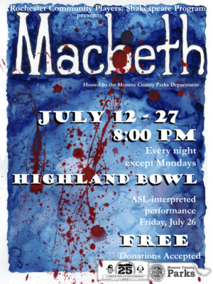 BWW Review: MACBETH at Rochester Community Players Shakespeare Program