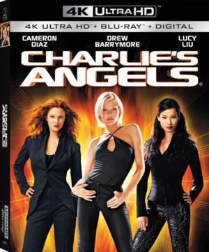 Cameron Diaz, Drew Barrymore, & Lucy Liu Star In CHARLIE'S ANGELS On 4K ULTRA HD & CHARLIE'S ANGELS: FULL THROTTLE On Blu-Ray 10/22