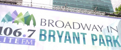 BWW TV: Watch BEETLEJUICE, WAITRESS & More Perform at Broadway in Bryant Park!