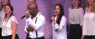 VIDEO: West End Gospel Choir Performs at West End Live