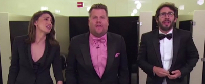 VIDEO: James Corden Parodies BE MORE CHILL's 'Michael in the Bathroom' With Sara Bareilles, Josh Groban, and Neil Patrick Harris on the Tonys