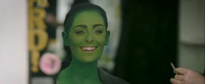 VIDEO: WICKED Star Hannah Corneau Gets Greenified In New Behind The Scenes Video