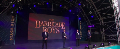 VIDEO: The Barricade Boys Perform at West End Live