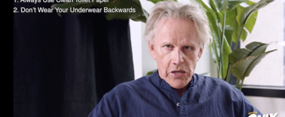 VIDEO: Gary Busey Shares the Ten Commandments of ONLY HUMAN