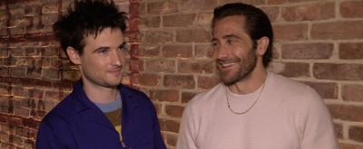 BWW TV: Jake Gyllenhaal & Tom Sturridge Explain What SEA WALL/ A LIFE Is All About!