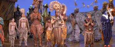 VIDEO: THE LION KING Celebrates Remarkable 9000th Performance