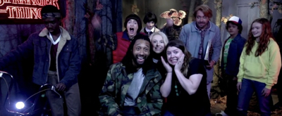 VIDEO: Jimmy Fallon and Cast Of STRANGER THINGS Surprise Fans At Madame Tussauds