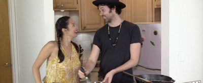 Backstage Bite with Katie Lynch: James Davis Whips Up  OKLAHOMA! Brown Butter Cornbread!