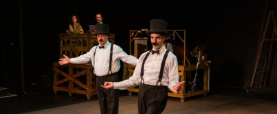 BWW Review: THE 39 STEPS: Playing Hitchcock For Laughs