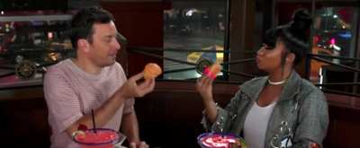 VIDEO: Nicki Minaj and Jimmy Fallon Go On a Dinner Date to Red Lobster