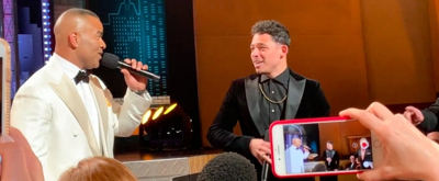 VIDEO: See Christopher Jackson and Anthony Ramos Perform '96,000' Up Close!