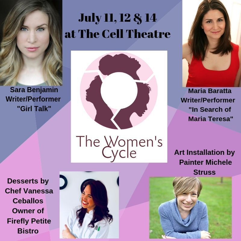 The Cell Theatre Presents An All-Female Led Artistic Showcase THE WOMEN'S CYCLE