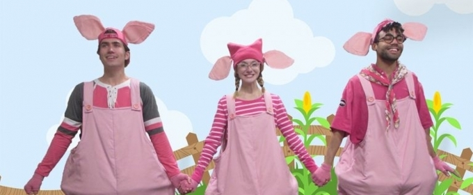 BWW Review: Young Audience Squeals with Delight at THREE LITTLE PIGS