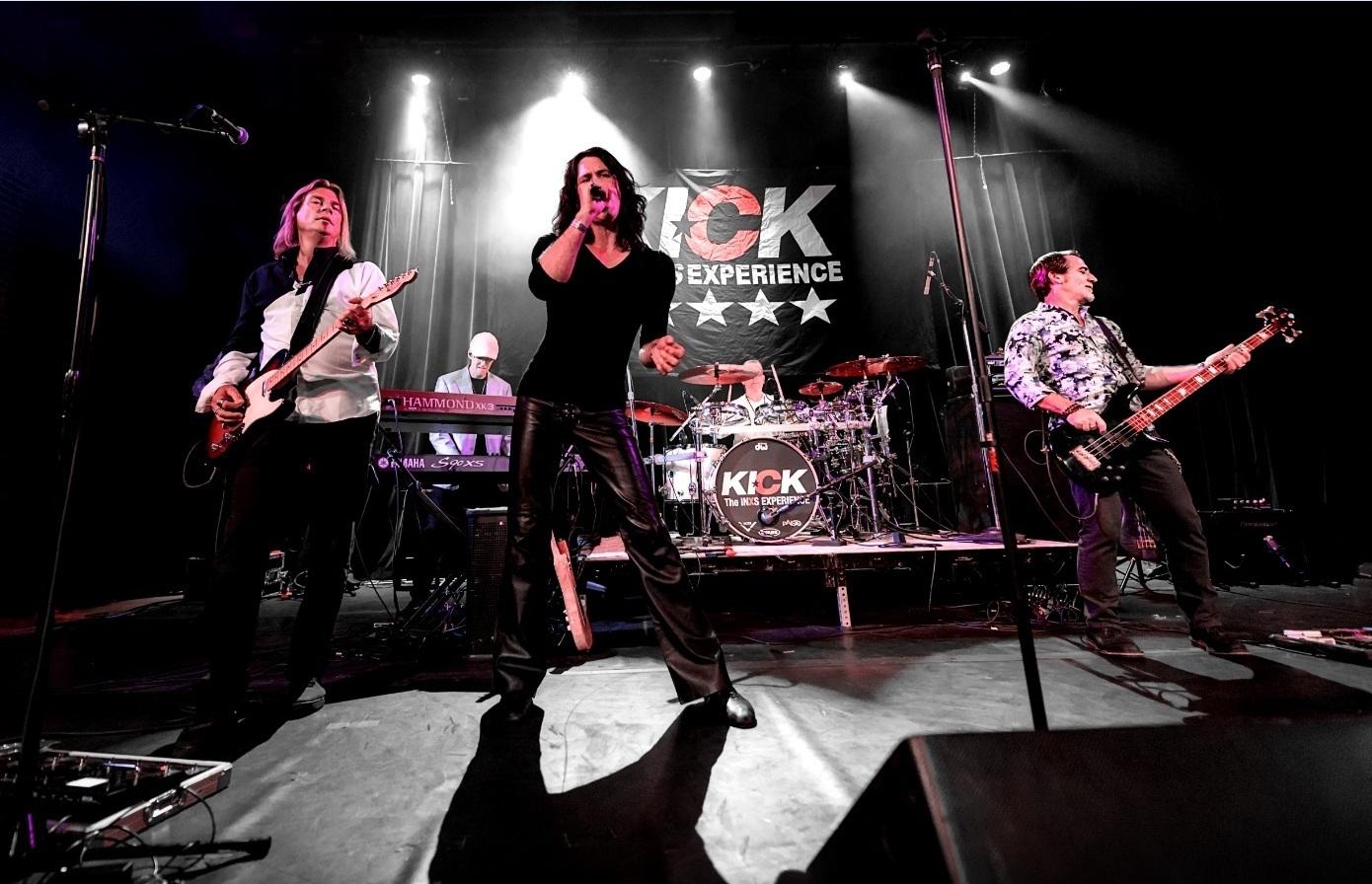 KICK - The INXS Experience Brings Australian Rockers' Biggest Hits To City Winery Atlanta