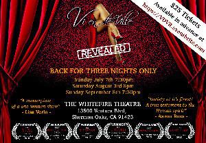 Multi Award-Winning Solo Show VIXEN DEVILLE REVEALED Returns