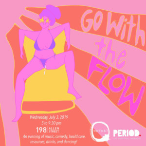 WWTNS? to Fight Period Poverty With GO WITH THE FLOW