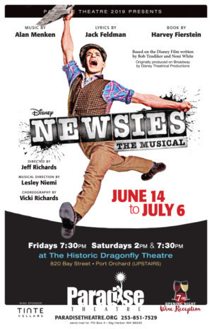 NEWSIES Opens At Paradise Theatre!