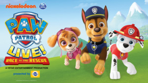 PAW PATROL LIVE! RACE TO THE RESCUE Comes to Louisville