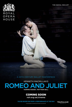 Royal Ballet's ROMEO & JULIET Heads To Cinemas This Summer