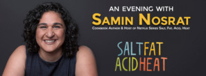 Best-Selling Author, Chef And Host Of 'Salt, Fat, Acid, Heat' To Appear Live In Overture Hall