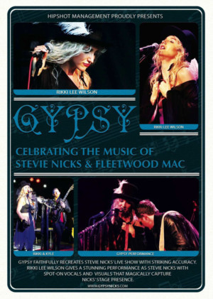 Laguna Playhouse Presents GYPSY - Celebrating The Music Of Stevie Nicks & Fleetwood Mac