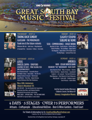 The Great South Bay Music Festival Returns This Summer