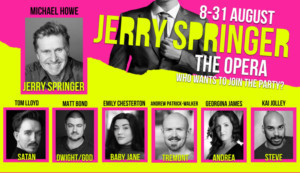Casting Announced For JERRY SPRINGER - THE OPERA In Manchester