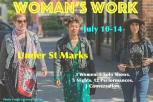 Playful Substance Announces WOMAN'S WORK A Solo Festival