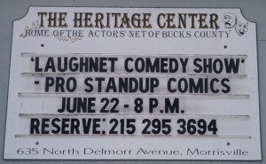 LaughNET Standup Comic Show Comes to Heritage Center in Morrisville
