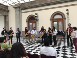 Música E Historia En La Gala De Saxofón Ofrecieron Alumnos Del INBAL En El Castillo De Chapultepec