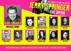 Cast Completed For Revival Of JERRY SPRINGER - THE OPERA at Manchester's Hope Mill